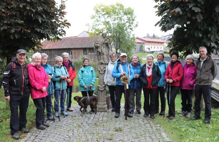 Wahlfahrt zum Haidstein 03.10.2019 (2)