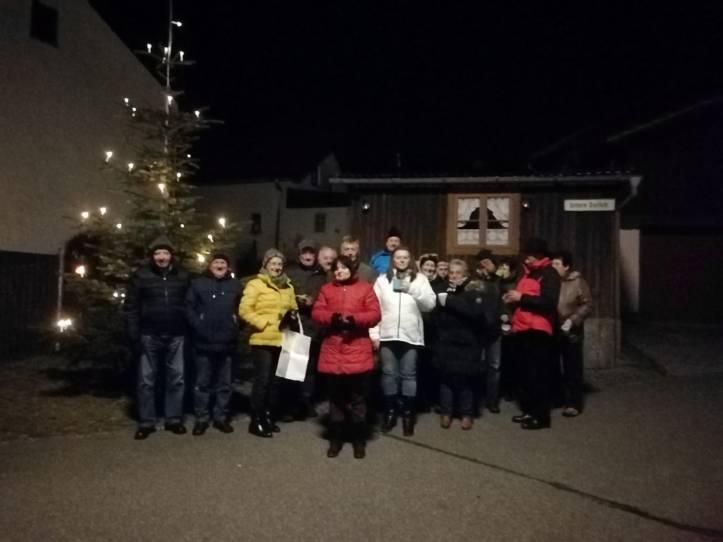 Wöchentliches Adventstreffen am Nepomukbrunnen 2019